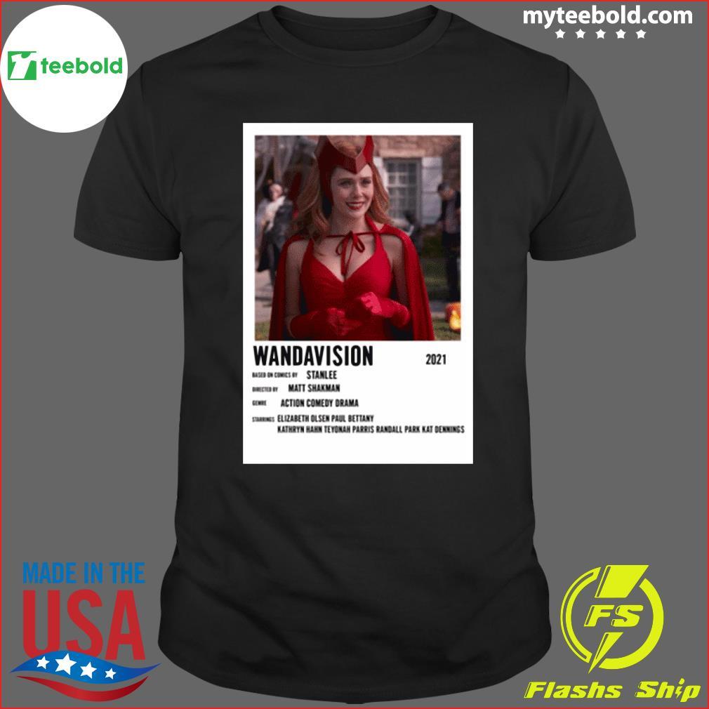 Wandavision 2021 Based On Comics Stan Elizabeth Olsen Shirt