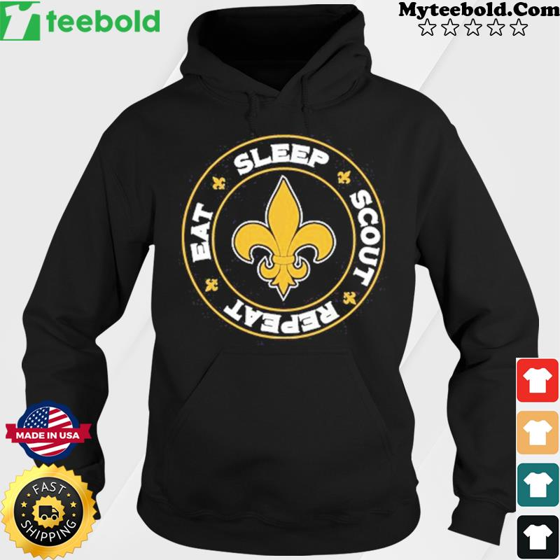 Eat Sleep Scout Repeat Shirt Hoodie