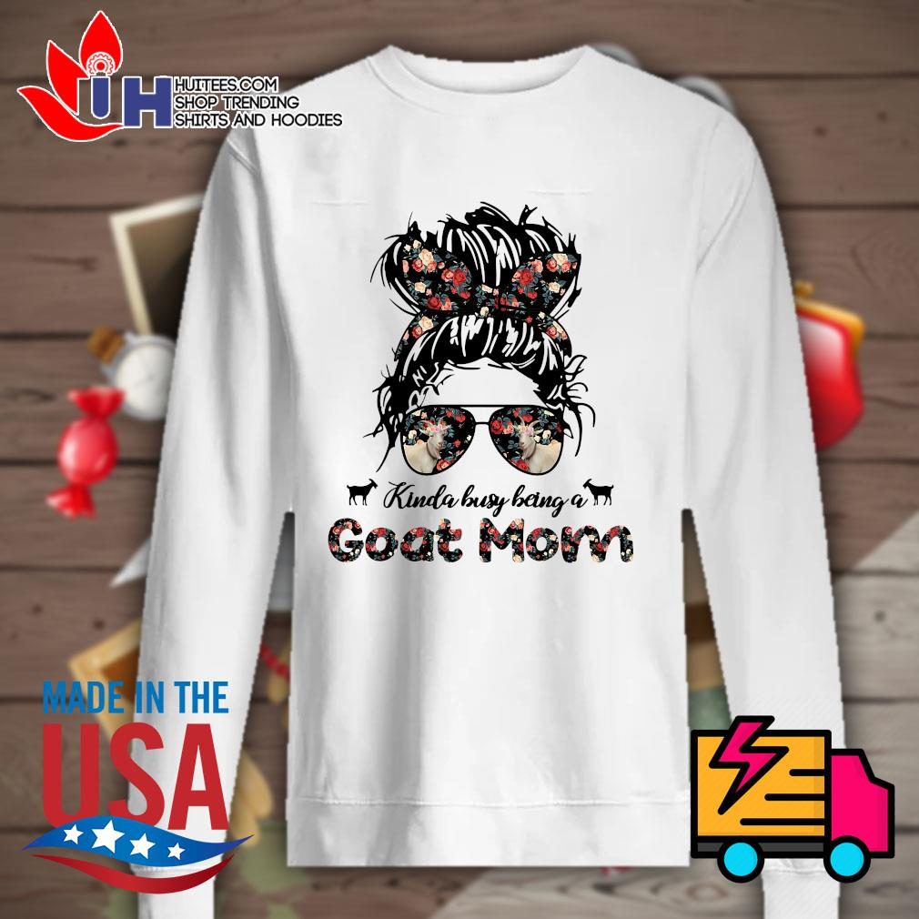 Kinda Busy being a Goat Mom s Sweater