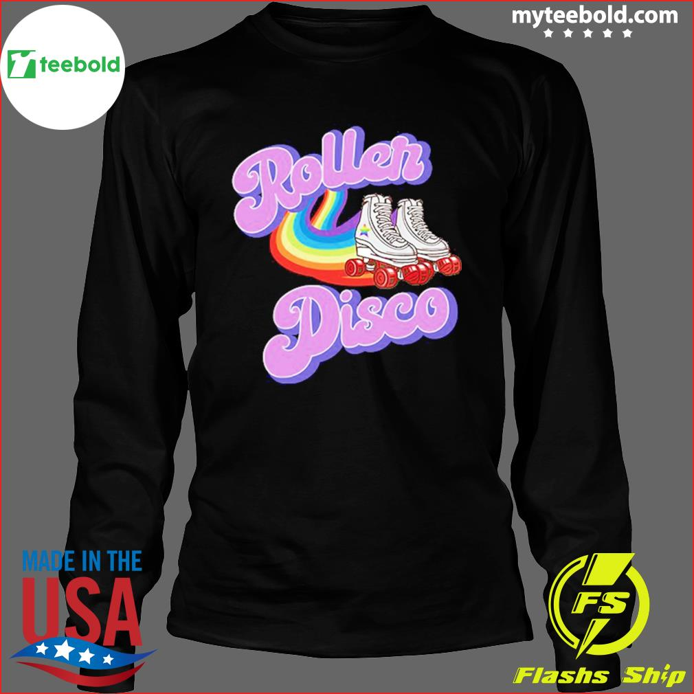 Official Roller Disco Vintage T-Shirt Long Sleeve