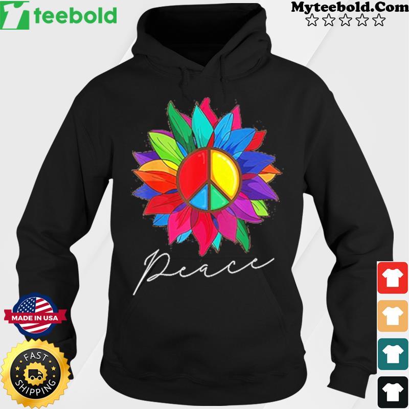 Peace Sunflower 2021 Classic Shirt Hoodie