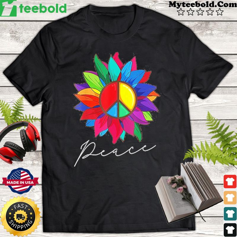 Peace Sunflower 2021 Classic Shirt