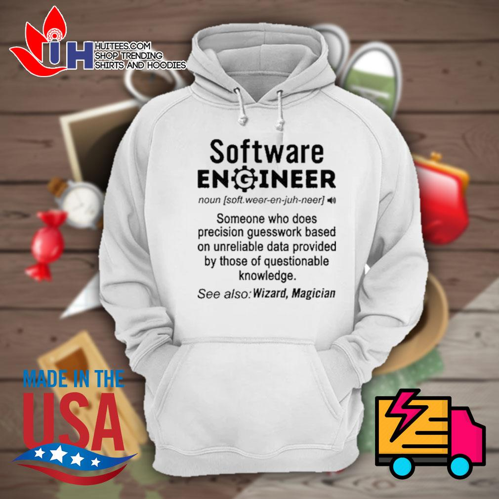 Software Engineer definition Wizard Magician s Hoodie