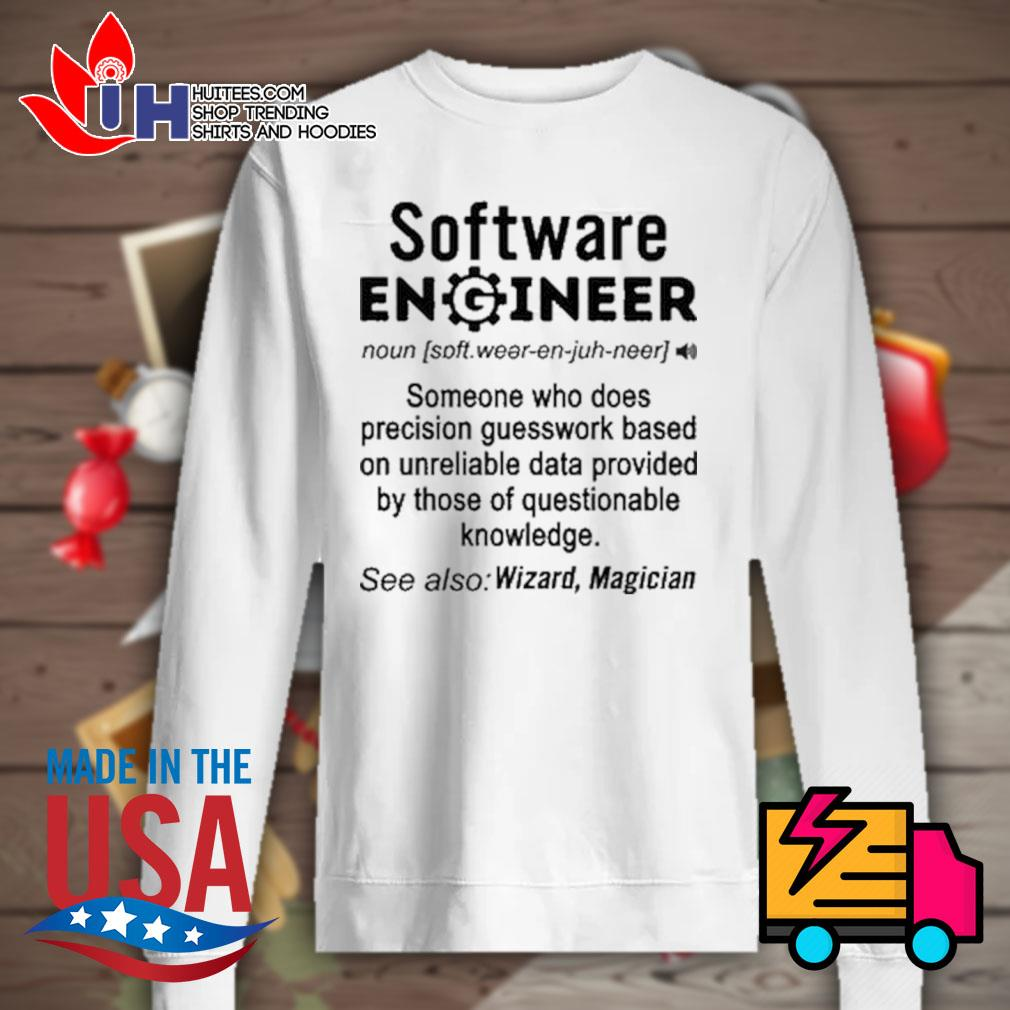 Software Engineer definition Wizard Magician s Sweater