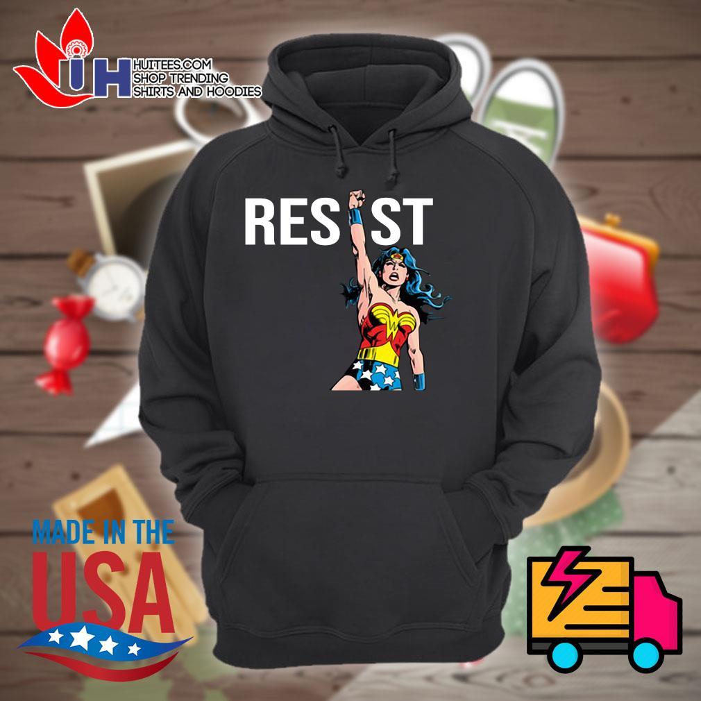 Wonder Woman Resist s Hoodie