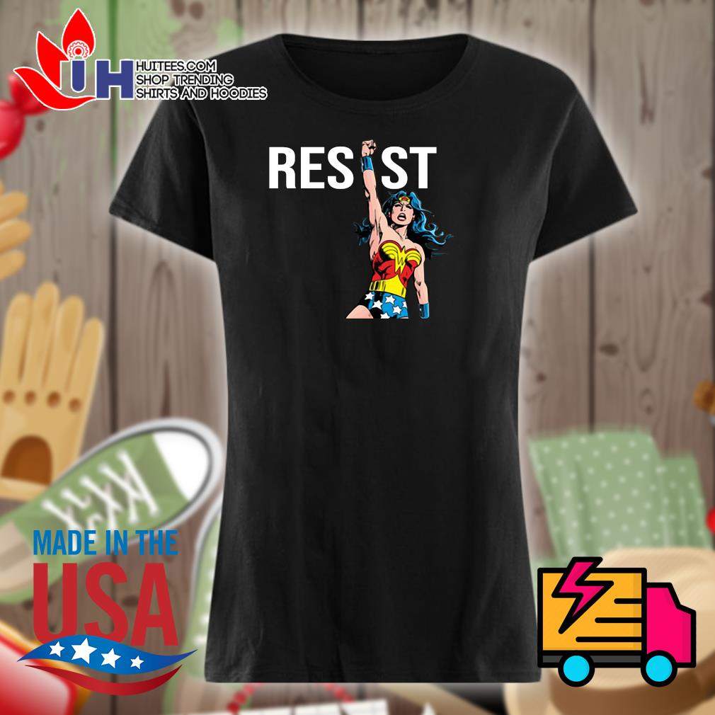 Wonder Woman Resist s Ladies t-shirt
