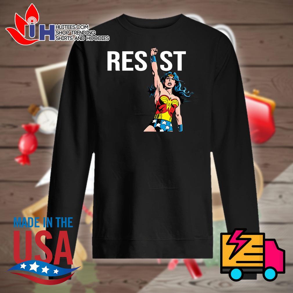 Wonder Woman Resist s Sweater