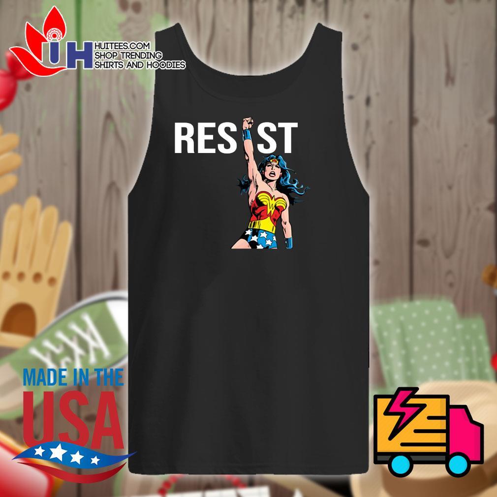 Wonder Woman Resist s Tank-top