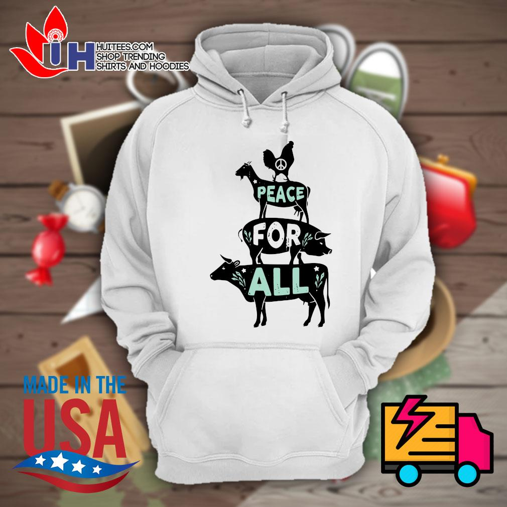 Animals peace for all s Hoodie