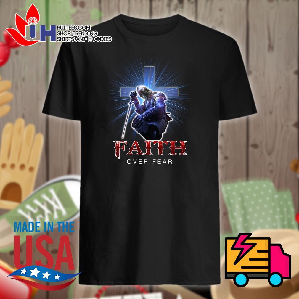 Viking Jesus Faith over fear shirt