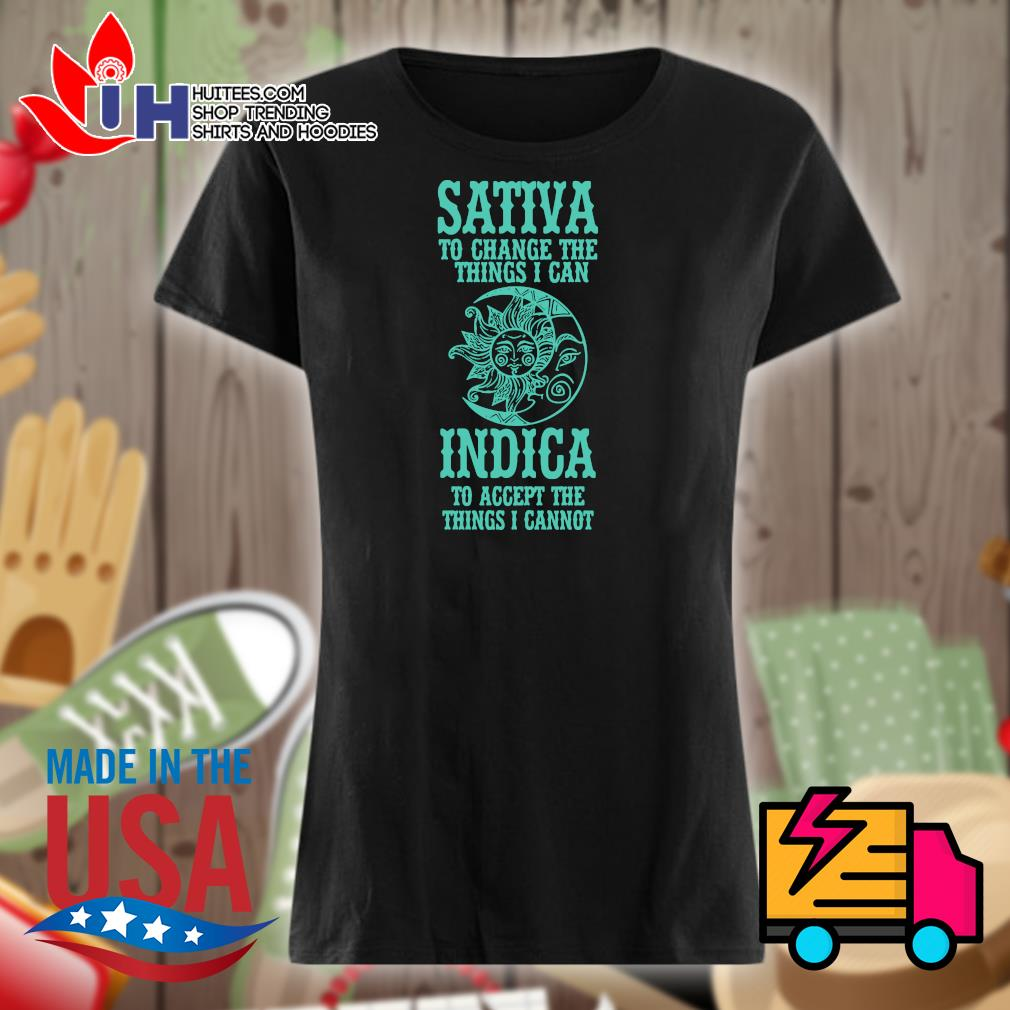Savita to change the things I can Indica to accept the things I cannot s Ladies t-shirt