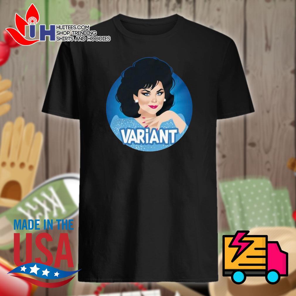 Variant Woman sticker shirt