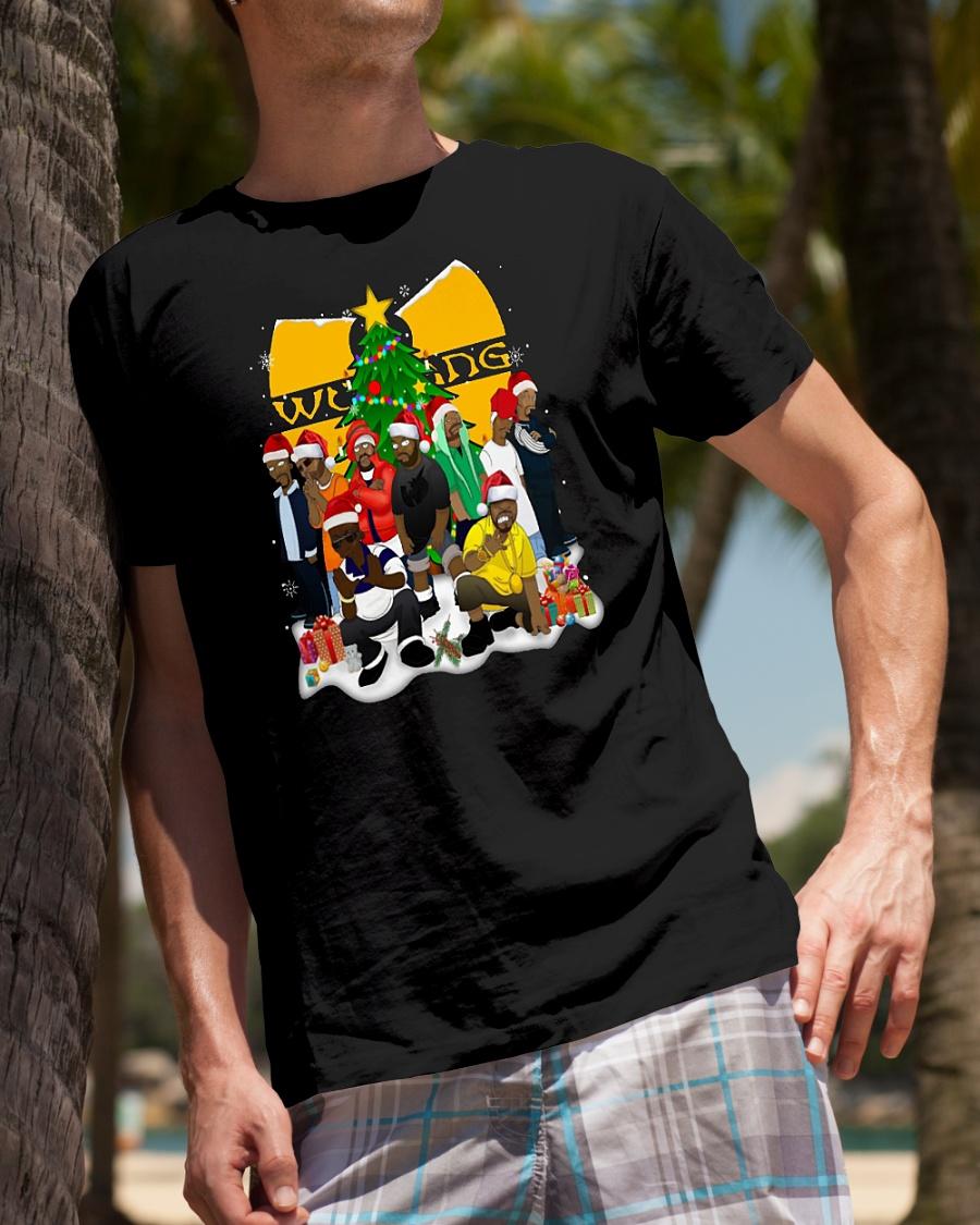 Wu Tang clan christmas shirt