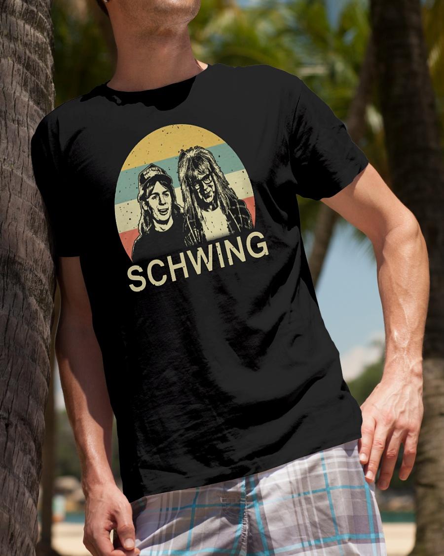 Wayne's World Schwing vintage shirt