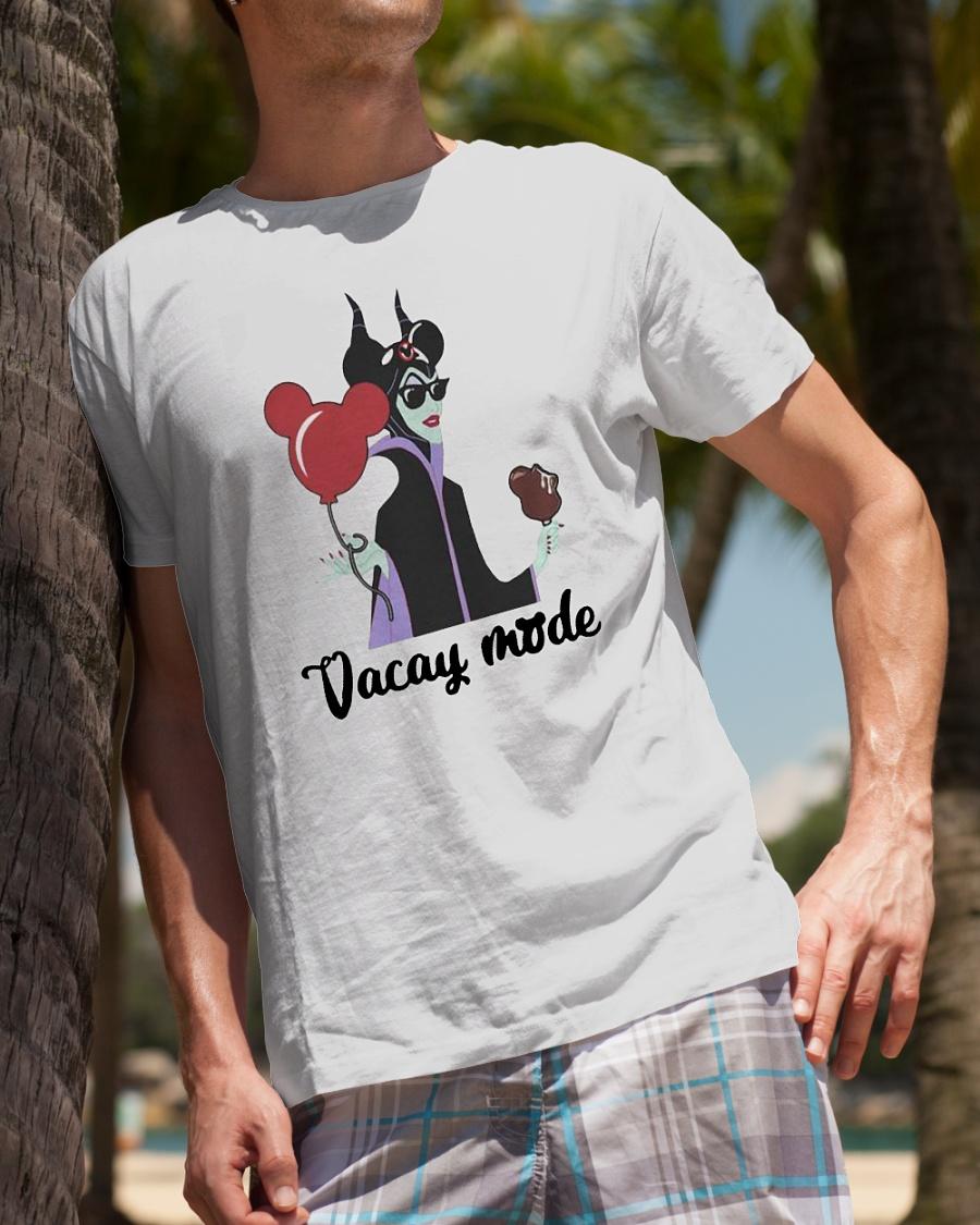 Maleficent Disney Vacay mode shirt