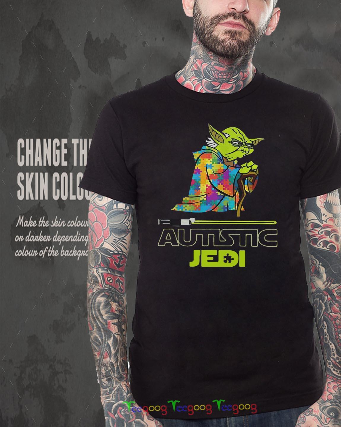 Autism Yoda Seagulls kid shirt