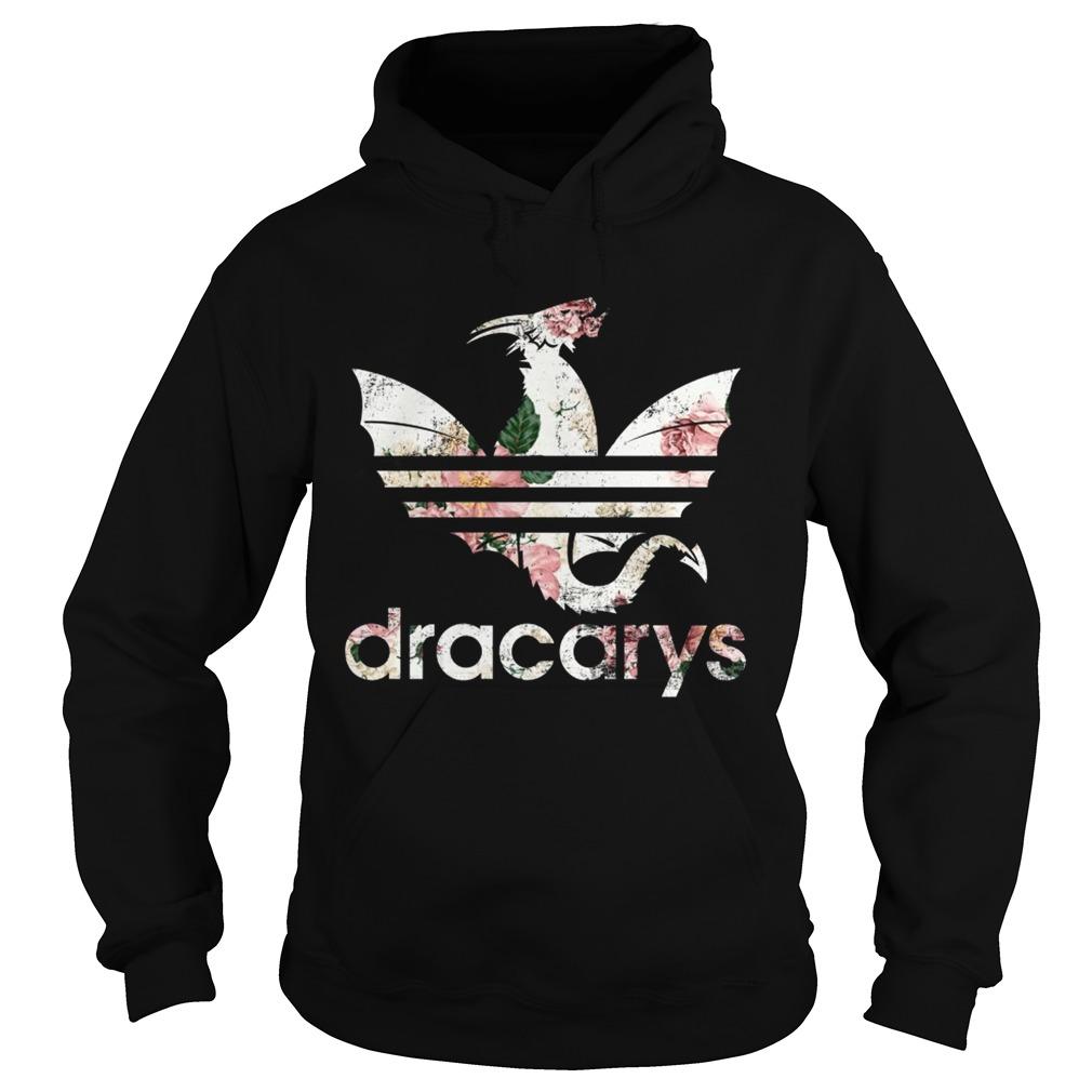 Adidas Dracary floral Hoodie shirt