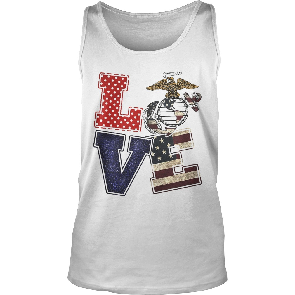 American Eagle Love Freedom Tank Top shirt