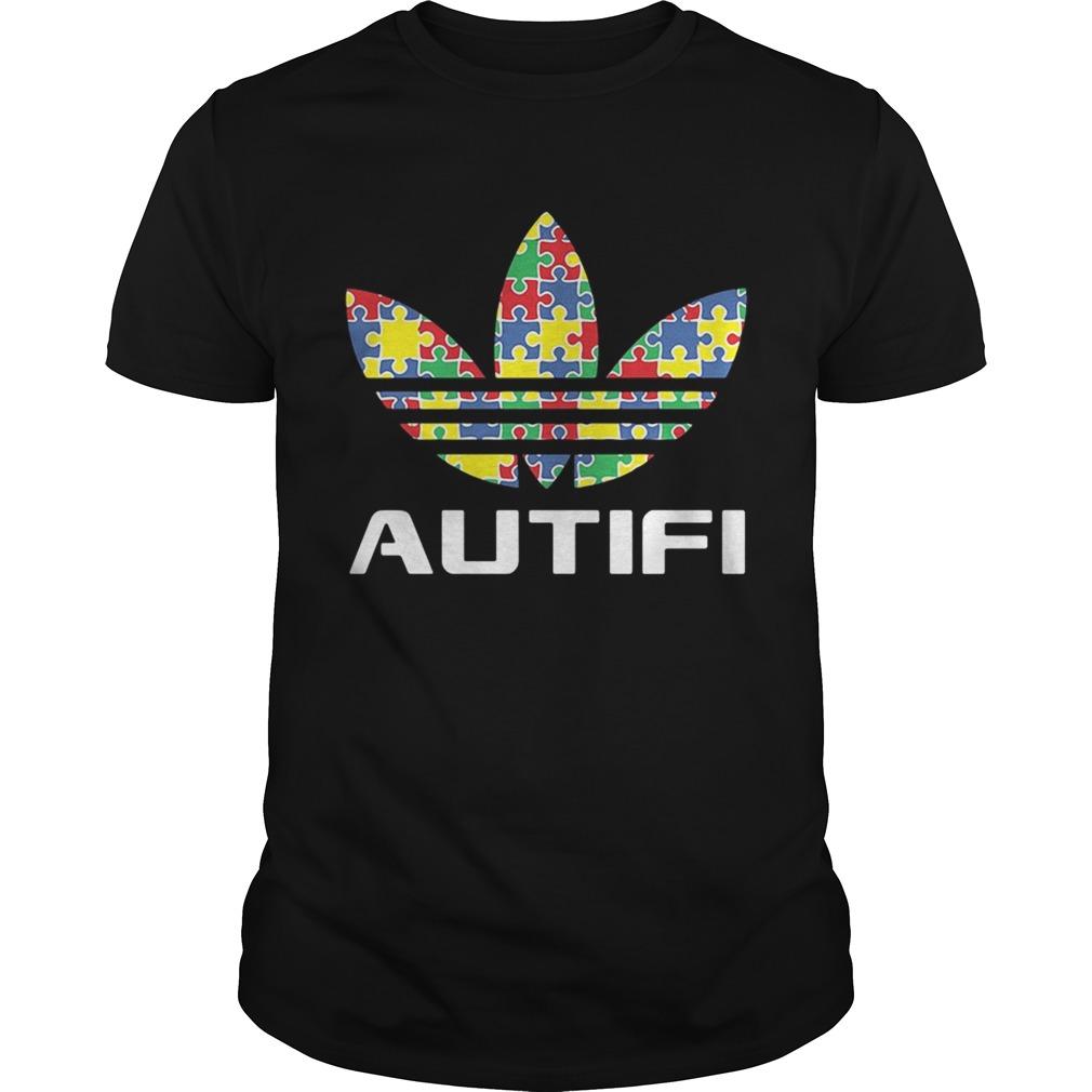 Autism awareness adidas autifi Unisex shirt
