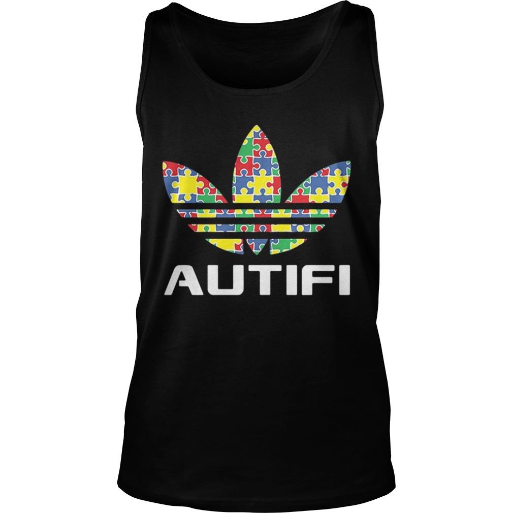 Autism awareness adidas autifi Tank Top shirt
