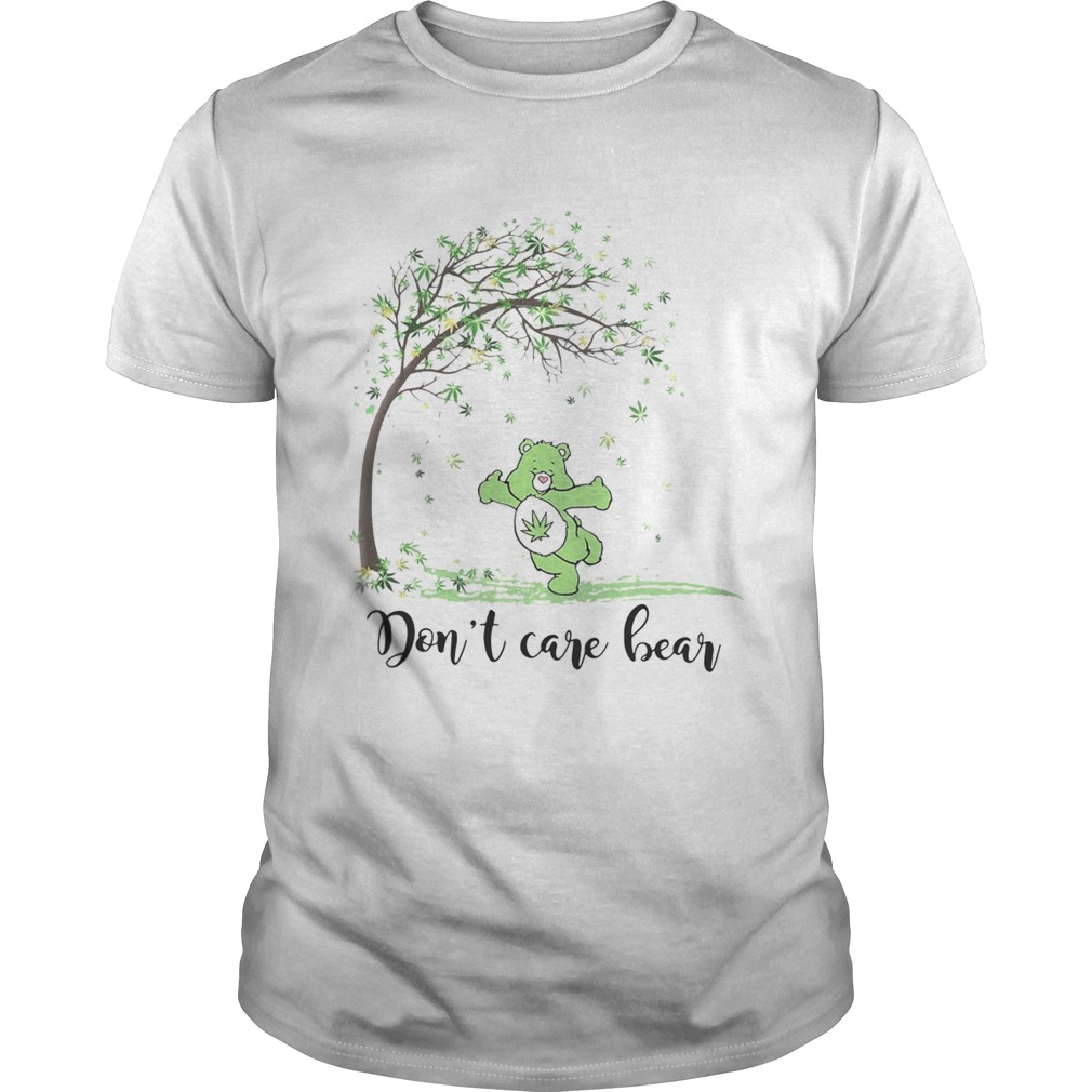 Autumn weed tree dont care bear  Unisex