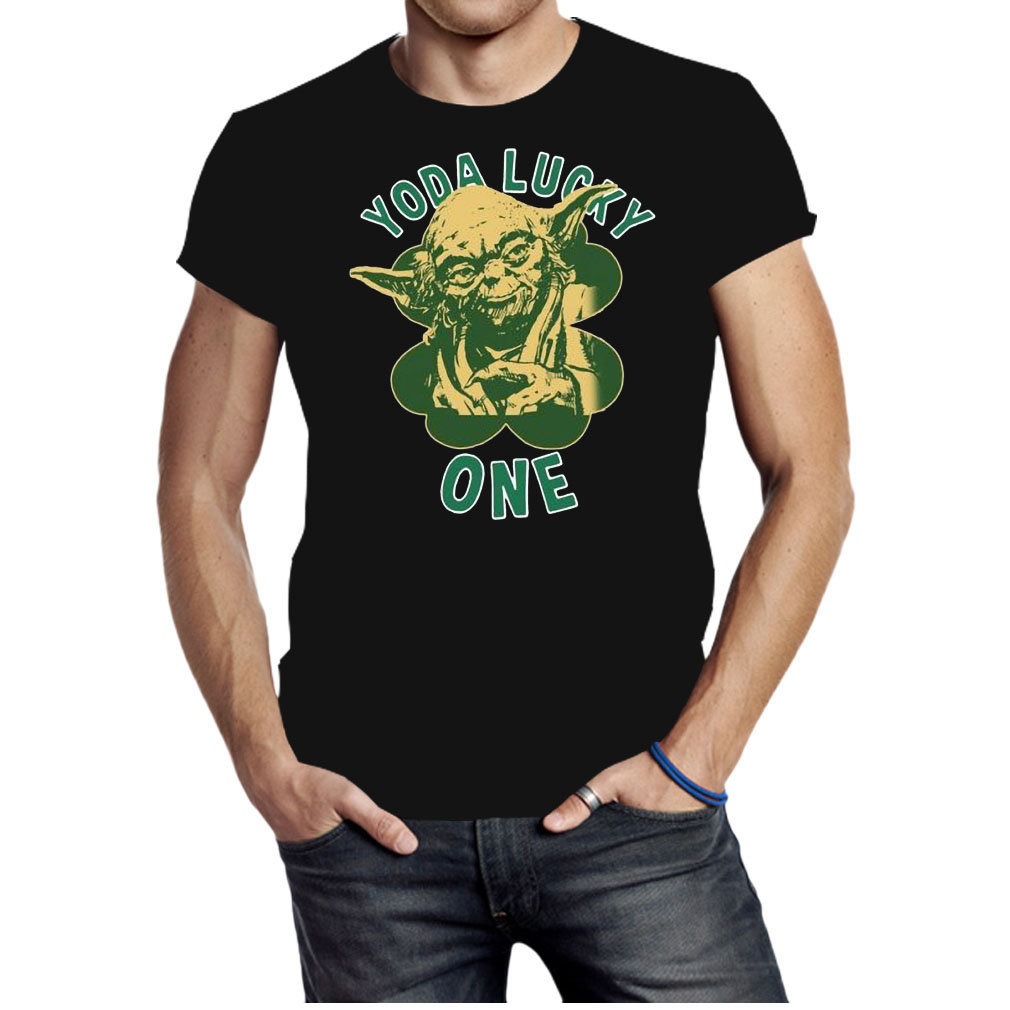 St Patricks day Yoda Lucky One shirt