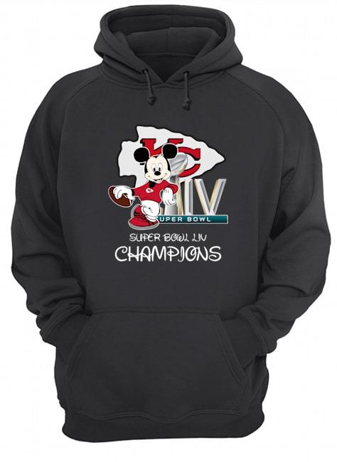 Mickey super bowl liv champions Hoodie