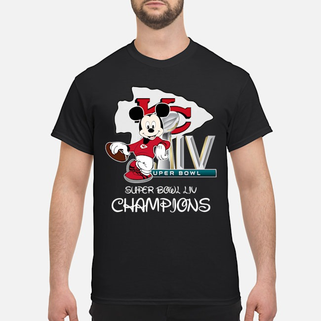 Mickey super bowl liv champions shirt