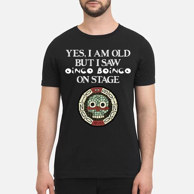 Yes, I am old but I saw Oingo Boingo on stage shirt