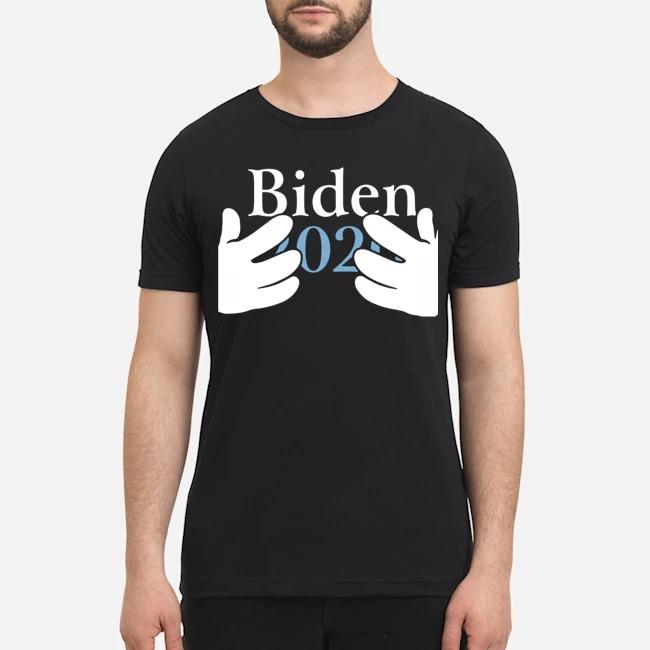 Joe Biden 2020 hands for president shirt