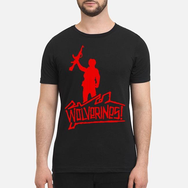 Wolverines graffiti shirt