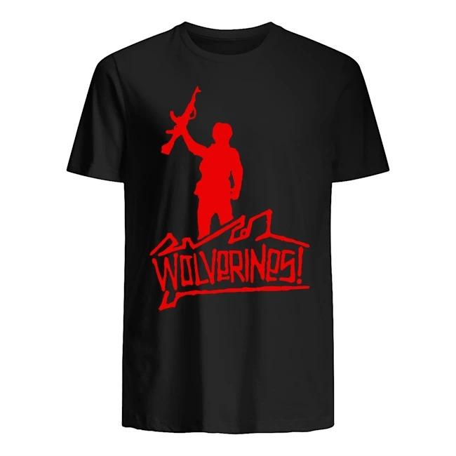 Wolverines graffiti Guys t-shirt