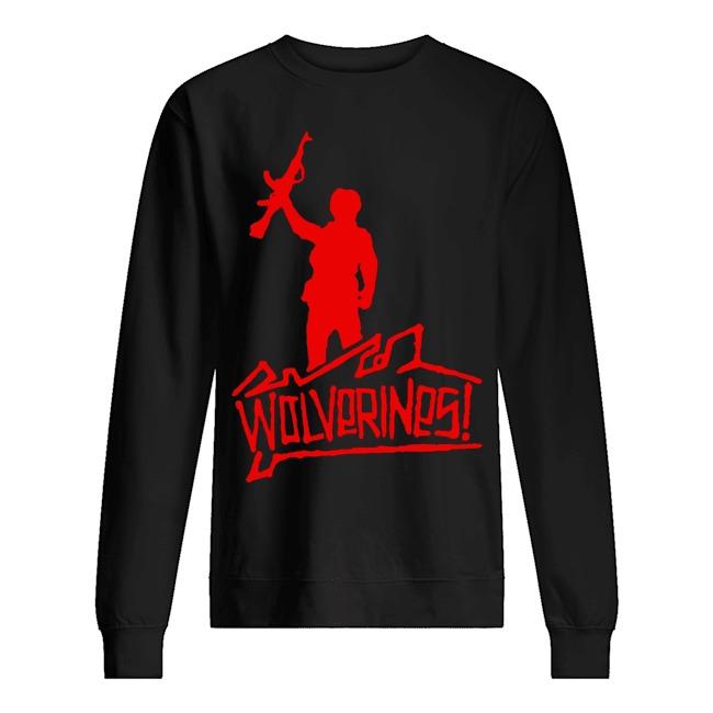 Wolverines graffiti Sweater