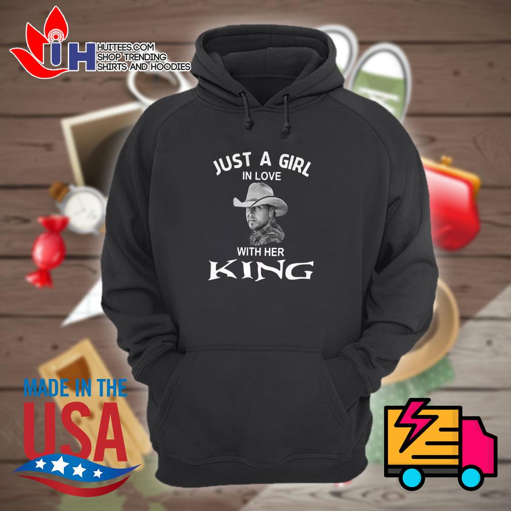 Luke Bryan Just a girl in love with her king Hoodie
