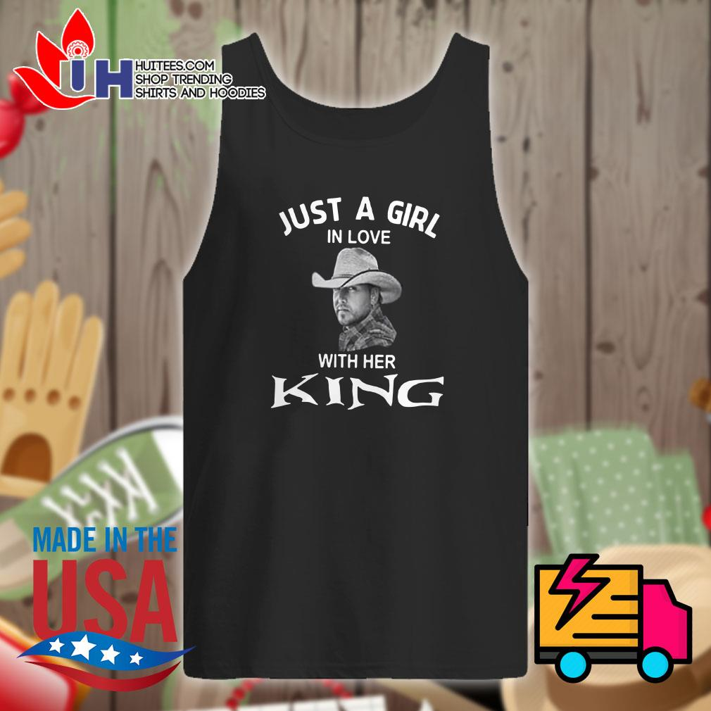 Luke Bryan Just a girl in love with her king Tank top