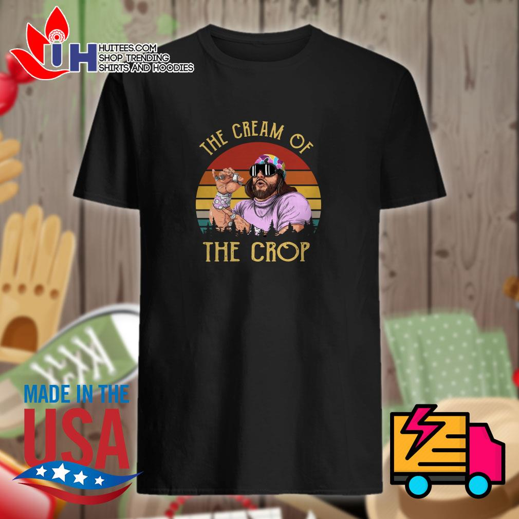 Randy Savage the cream of the crop vintage shirt