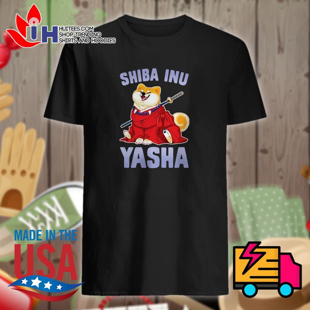 Shiba inu yasha shirt
