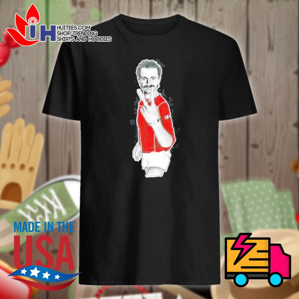Begbie red jacket trainspotting shirt