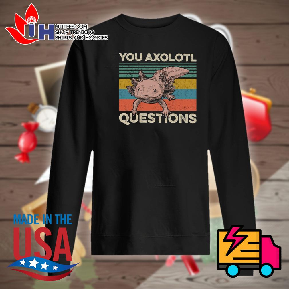 You axolotl questions vintage s Sweater