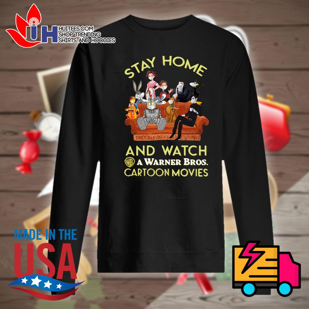 Stay home and watch a warner bros cartoon movies s Sweater