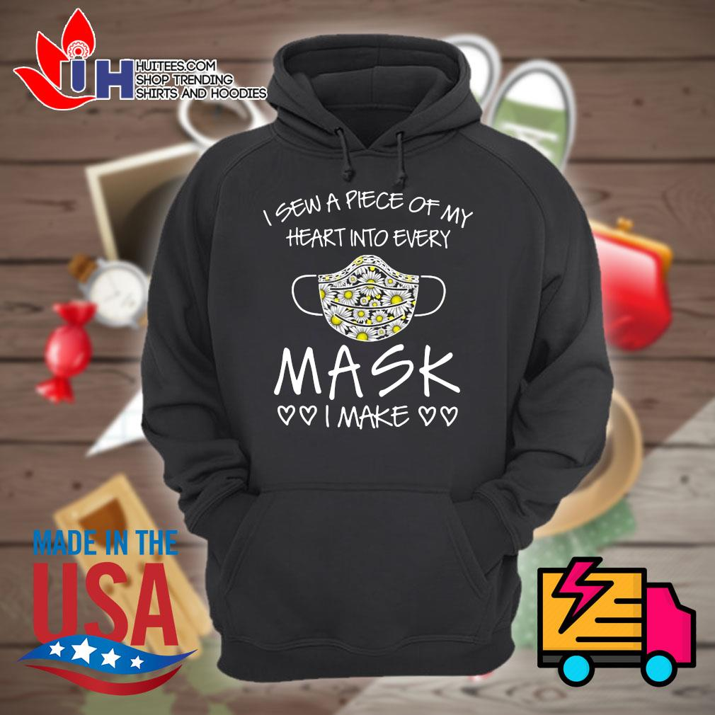 I Sew A Piece Of My Heart Into Every Mask I Make Heart Shirt Hoodie