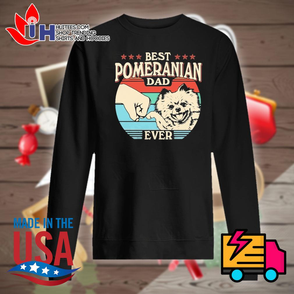 Best pomeranian dad ever vintage s Sweater