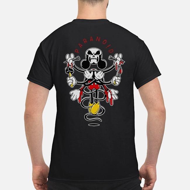 Mickey mouse Paranoid shirt