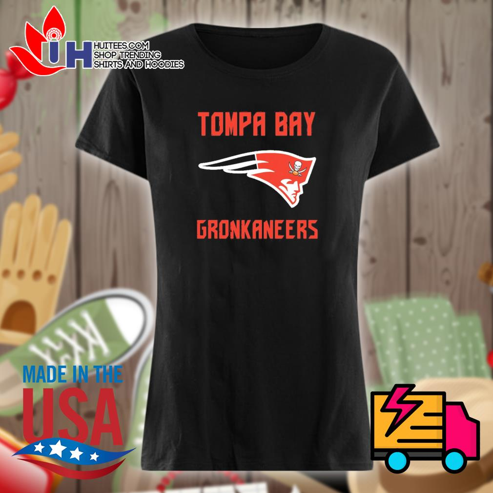 Tompa Bay gronkaneers s Ladies t-shirt