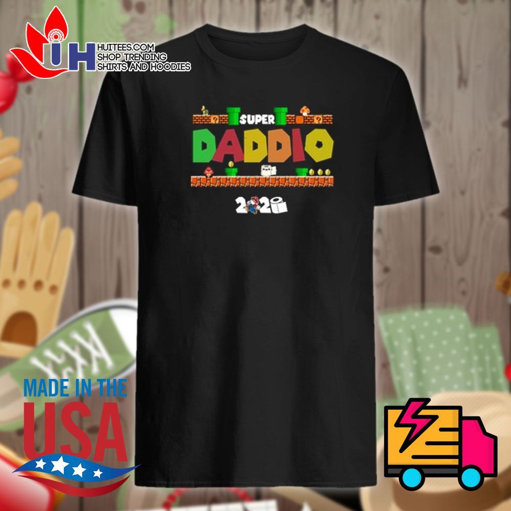 Super daddio toilet paper 2020 shirt