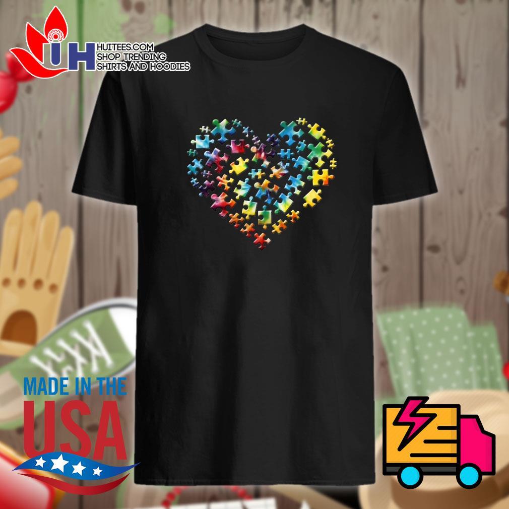 Autism heart shirt