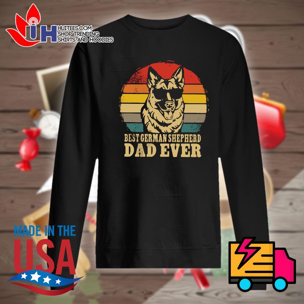 Best German Shepherd dad ever vintage s Sweater