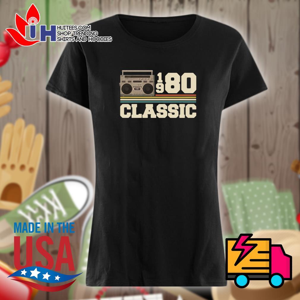 Cassette 1980 classic s Ladies t-shirt