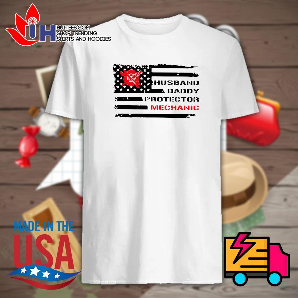 Husband daddy protector Mechanic shirt