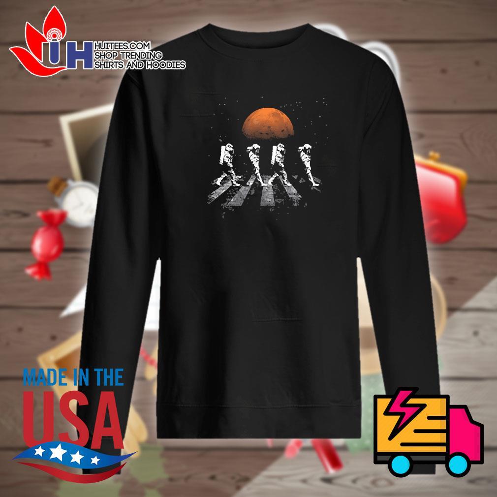 Astronaut walking in space mars s Sweater